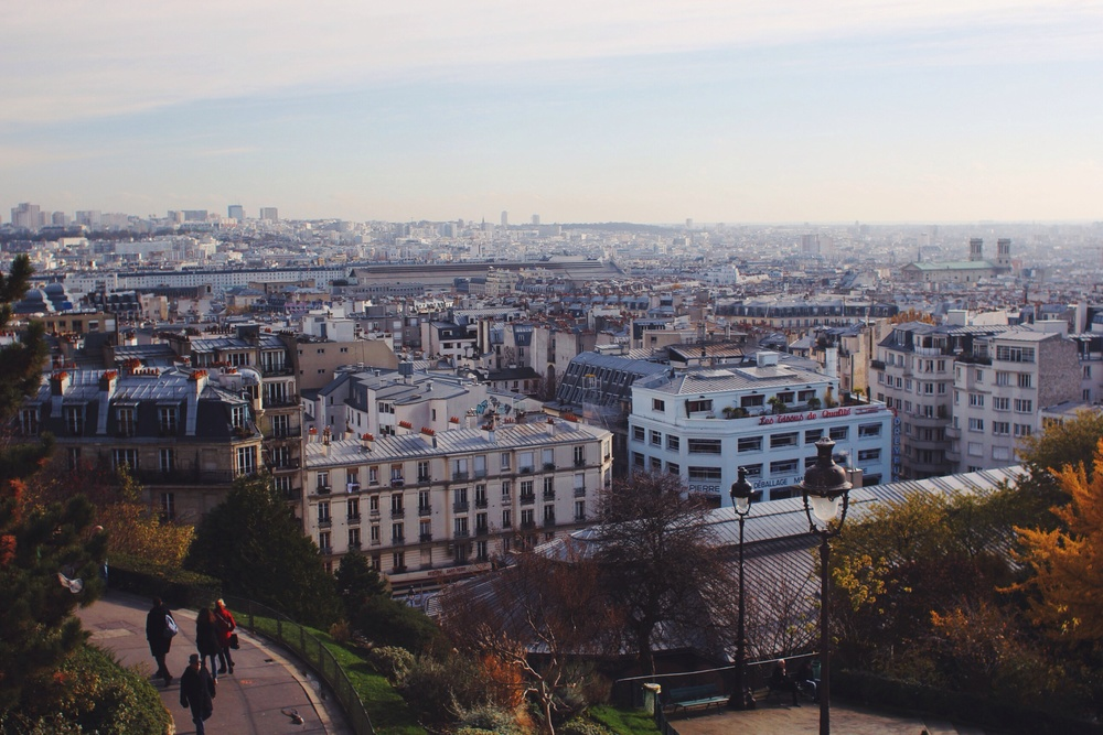 The view from Sacré Coeur.