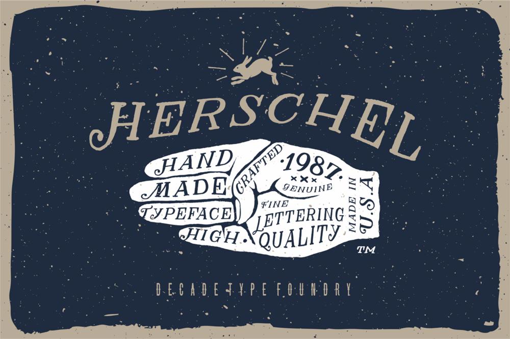 HERSCHEL FONT