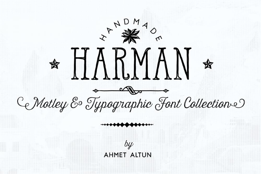 HARMAN FONT FAMILY