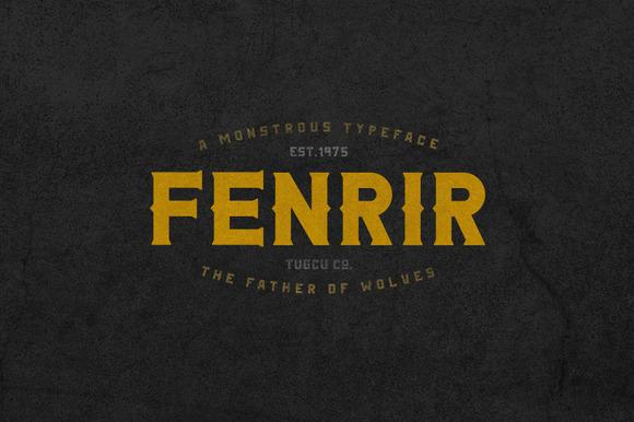 FENRIR FONT