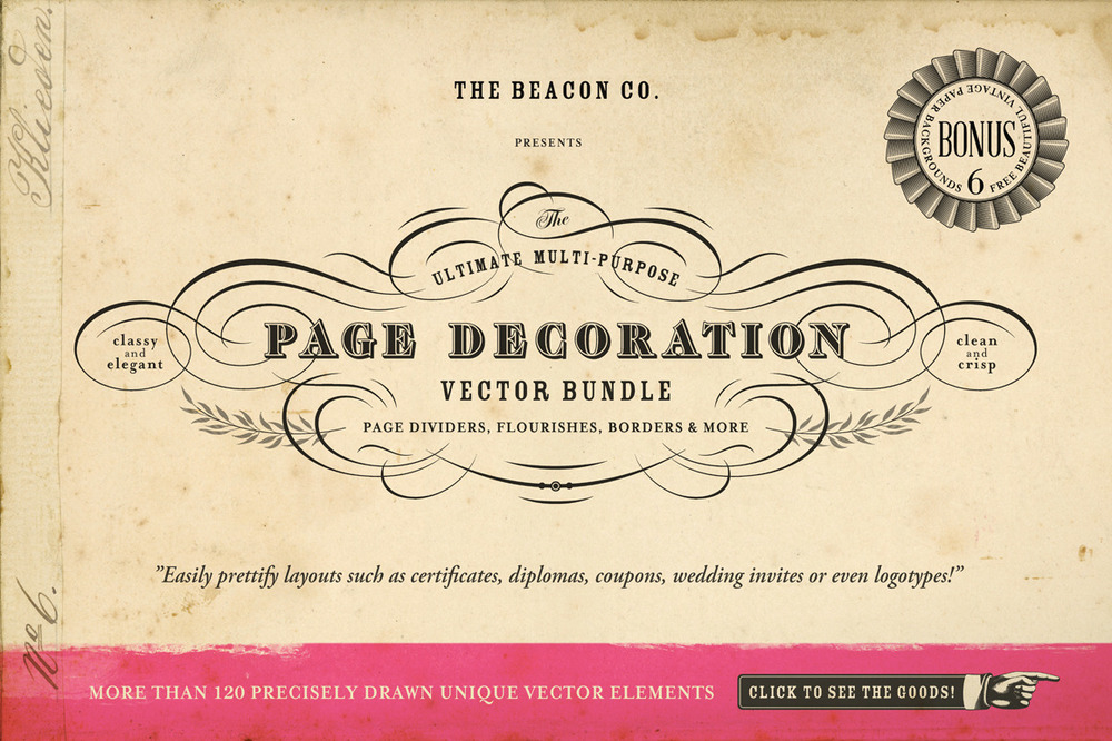 THE BEACON COLLECTION FONT FAMILY