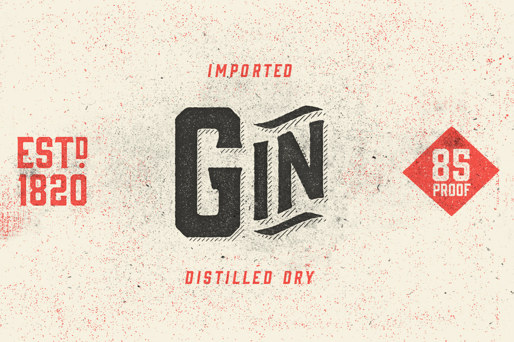GIN DISPLAY FONT
