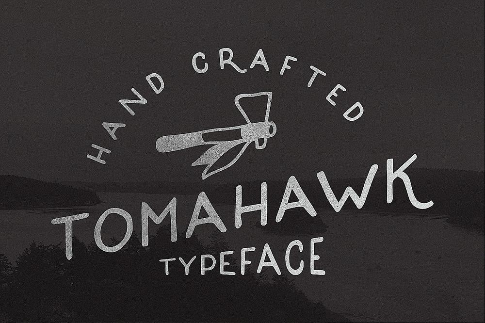 TOMAHAWK TYPEFACE