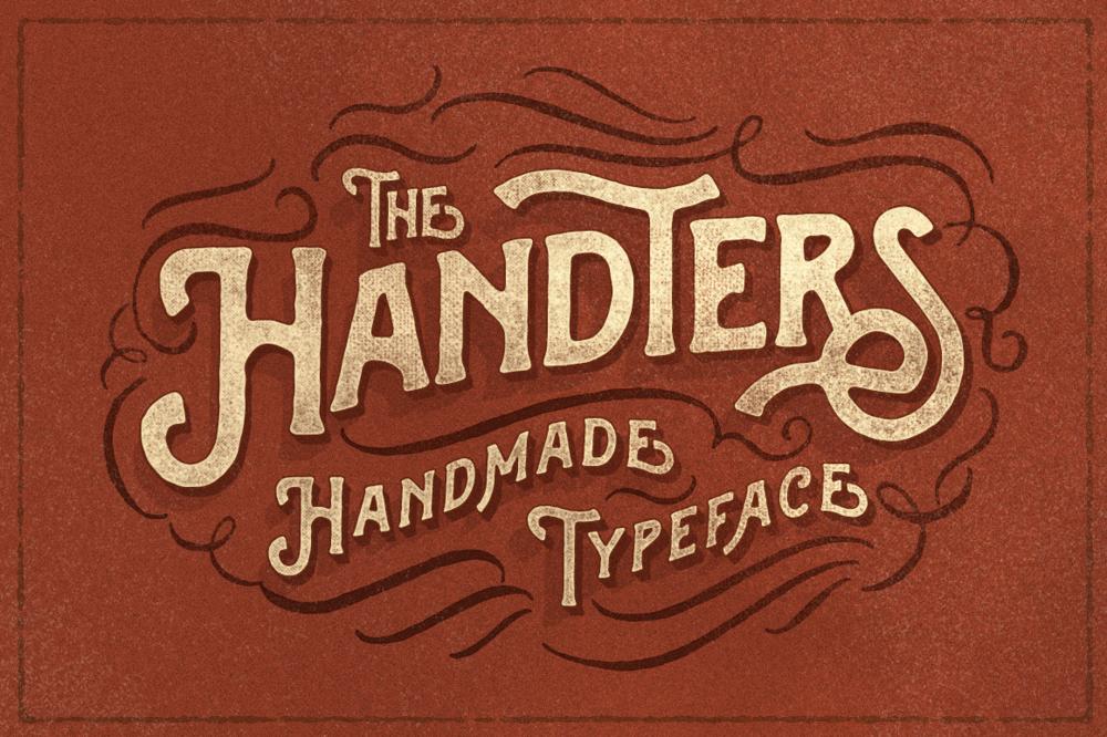 HANDTERS HANDMADE TYPEFACE