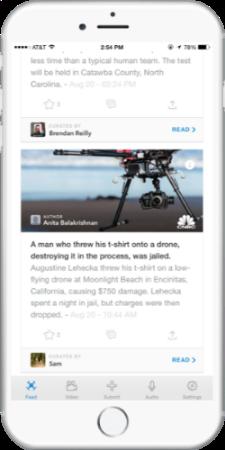 drones news app