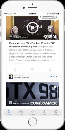 video games news app