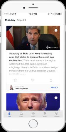2016 election news app