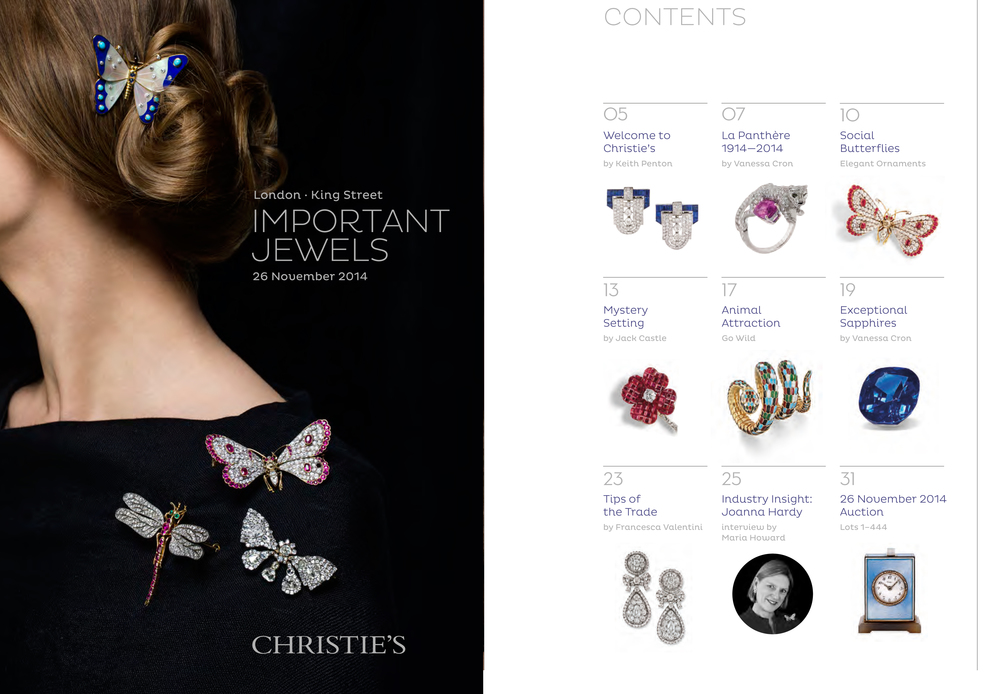 Christie's Look Book November 2014