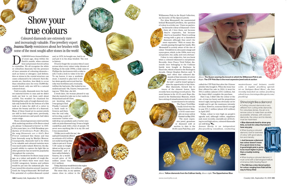 Sept 2018 Coloured Diamonds Country Life.jpg