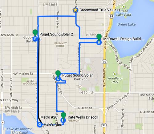 North Seattle Walking Tour — Northwest Green Home Tour