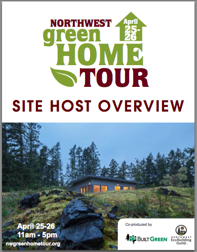 Learn more about hosting a site on the Northwest Green Home Tour. Download the Site Host Overview packet.