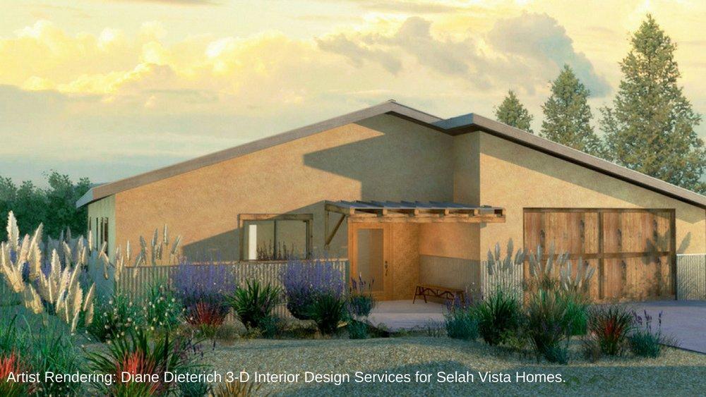 Selah Vista Homes Exterior. Artist Rendering. Diane Dieterich 3-D Interior Design Services..jpg