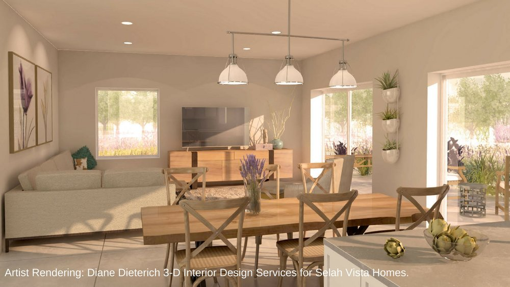 Selah Vista Homes Living Room. Artist Rendering. Diane Dieterich 3-D Interior Design Services..jpg