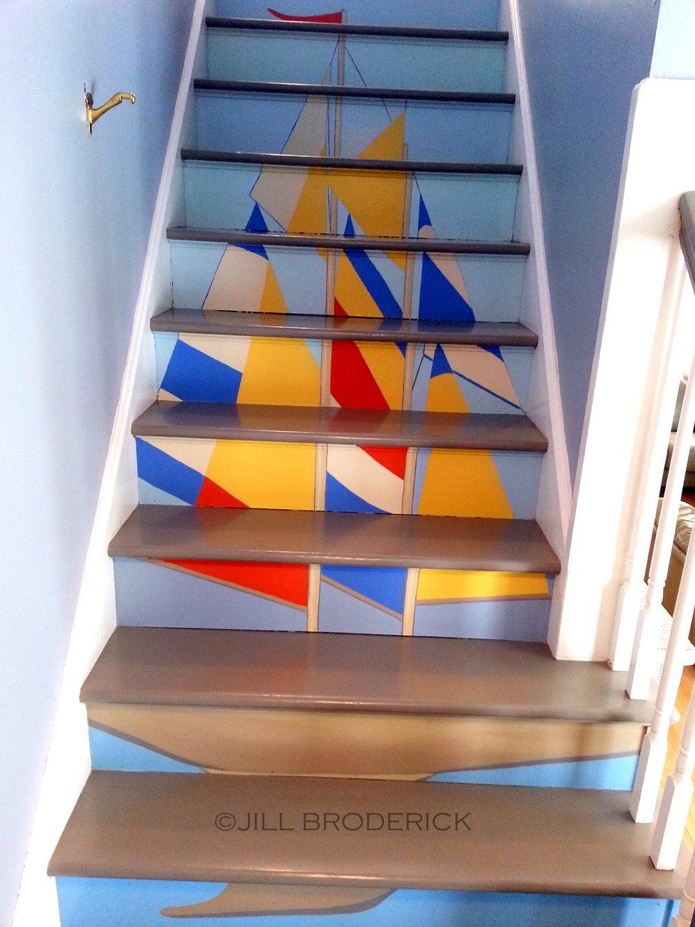 SAILBOAT STEPS