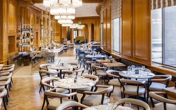 "Gillray's Steakhouse  -  SCORE: 78.5/100 ""Great views over the Thames, a genuine ""English"" atmosphere and surprisingly good value make Gillray's a must visit for any serious London carnivore."" Click to read the review..."