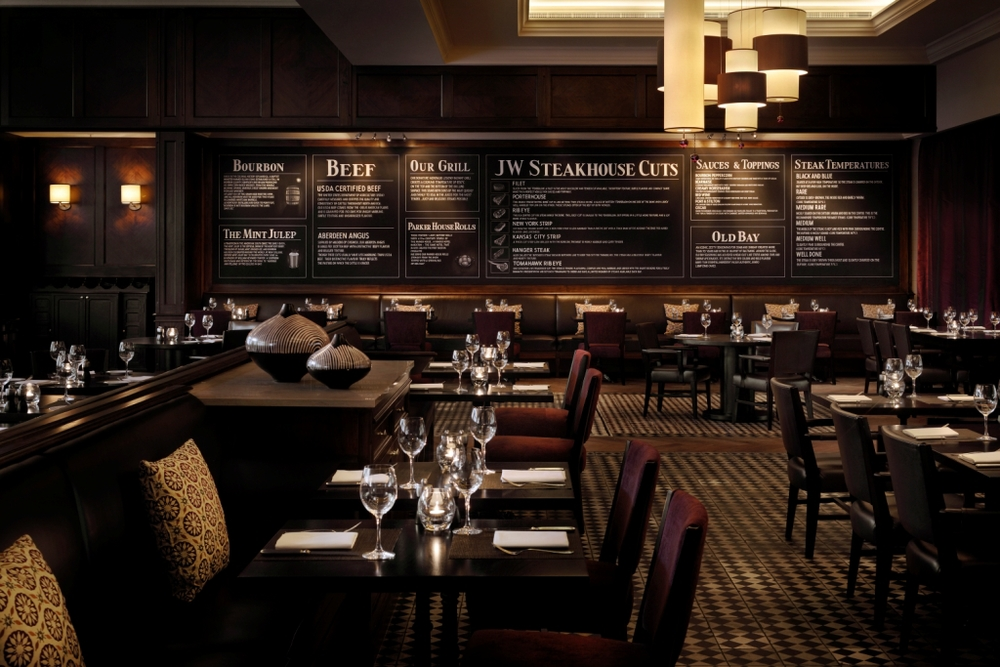 "JW Steakhouse  -  SCORE: 62.5/100 ""A huge and cold room, coupled with decent but not excellent food leads to general disappointment - for the prices, JW simply does not match up to the local competition."" Click to read the review..."