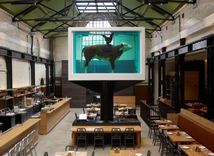 "Tramshed  -  SCORE: 74.5/100 ""The menu is restrictive but the food is good and the Hirst sculpture, along with the location, gives Tramshed the quirky and trendy vibe that is it's selling point."" Click to read the review..."
