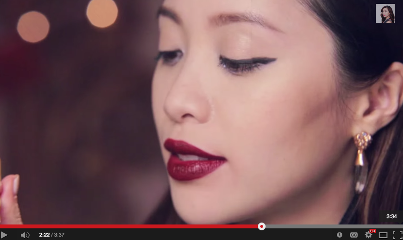 Michelle Phan in the QUartz Tallon Earrings