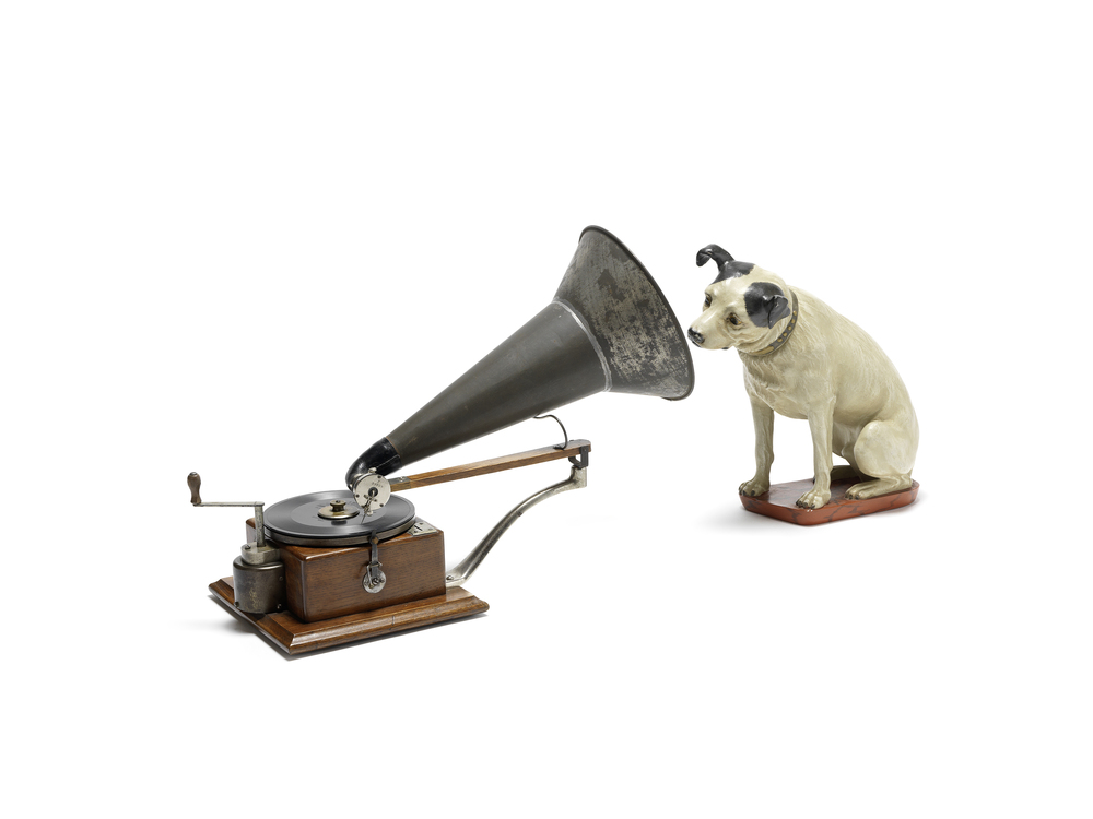 Improved Gramophone from Emile Berliner at 1898 (c) Jewish Museum Hohenems
