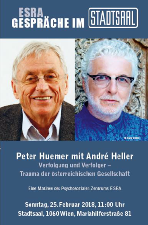 Photo source: https://www.ikg-wien.at/event/esra-gespraeche-im-stadtsaal-peter-huemer-mit-andre-heller/