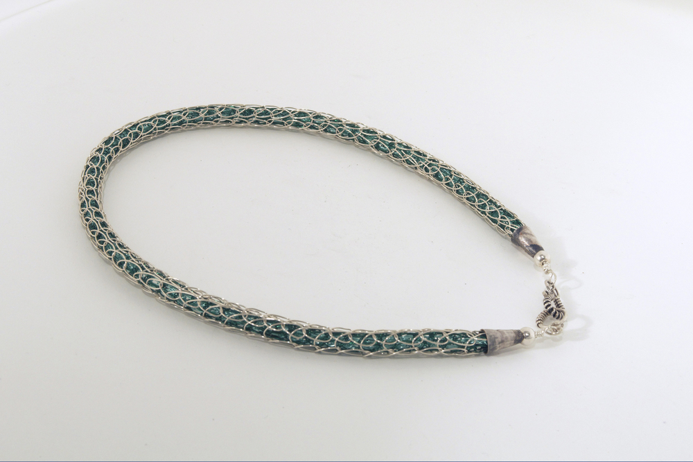 Necklace - Hillwalking 2, inspired by Ring of Kerry, Ireland