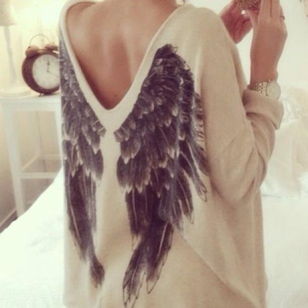 n6gskj-l-610x610-shirt-t-shirt-sweater-angel-wings-white-black-swaeter-sexy-sweaters-blouse-angel-wings-jumper-beige-sweater-r-ckenfrei-white-wings-cute-angel-beige-angel-wing-sweater-with-wings-wh-1.jpg