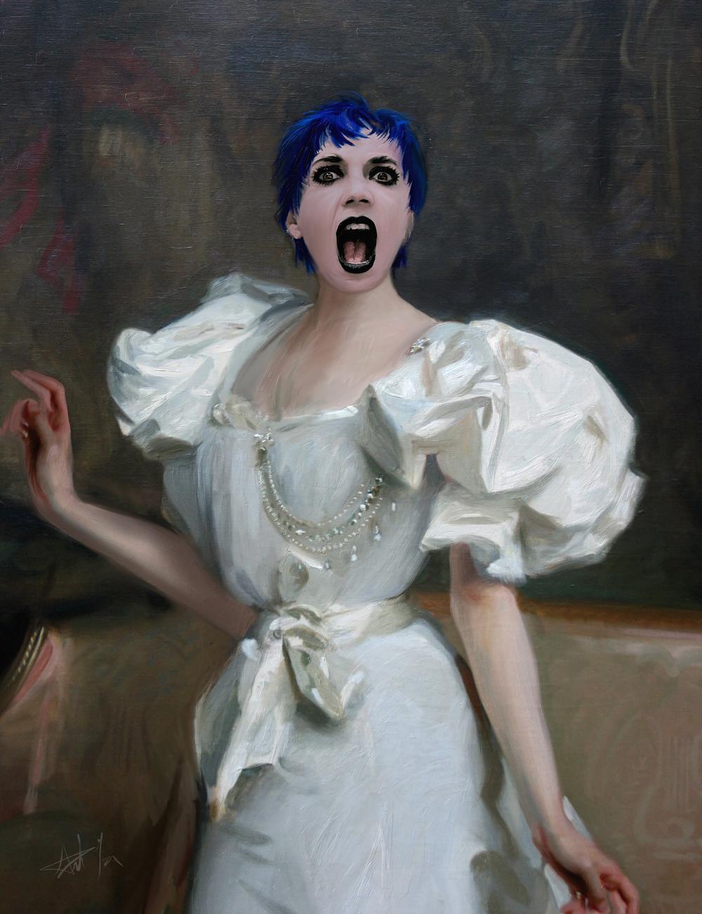 Edwardian Scream