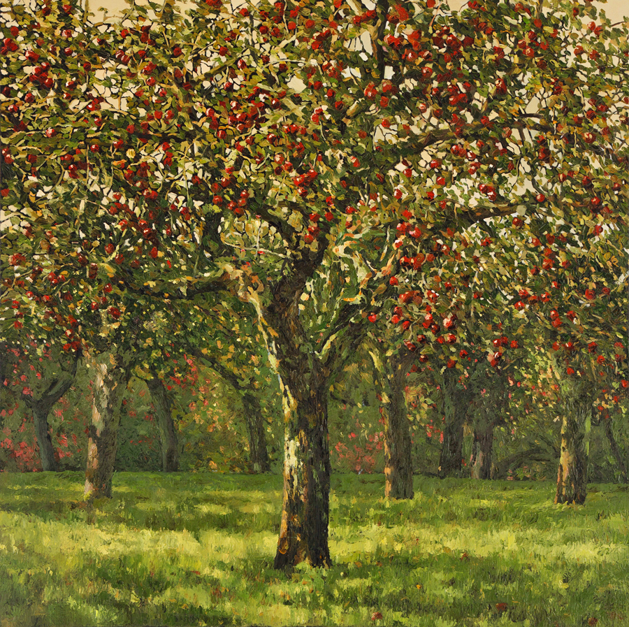 The Orchard - Oil on Canvas