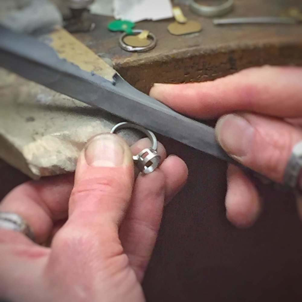 - The man then took the ring to a master jeweller, instructing him to use the finest and hardest metals to recraft the ring and remake it beautiful and strong. Strong enough for their travels together to the deepest sea and highest mountain.