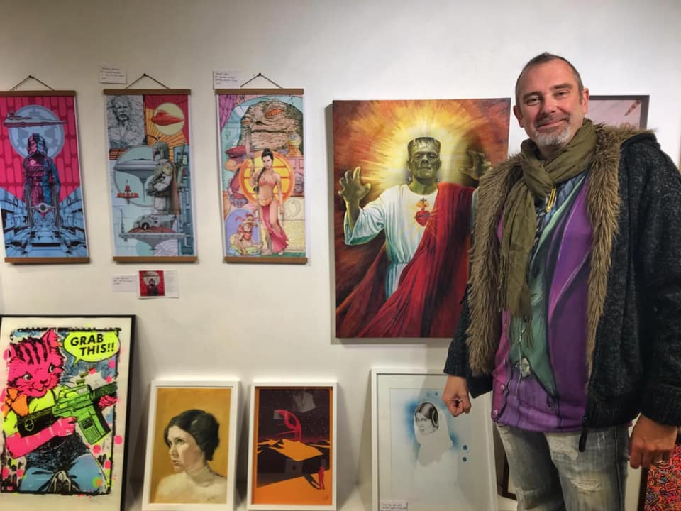 - Bighton Artist Ant Fox will be featuring along side a collection of artists from around the world, the comic book themed group show will display an eclectic mix of original and printed artwork, sculpture, and custom toys.