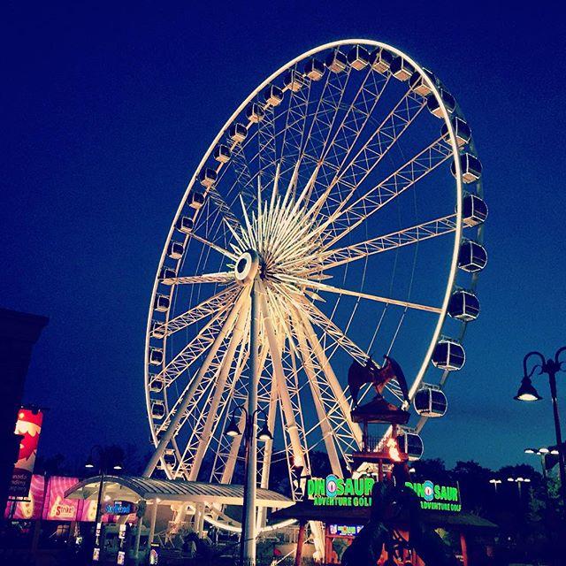 Sky wheel.