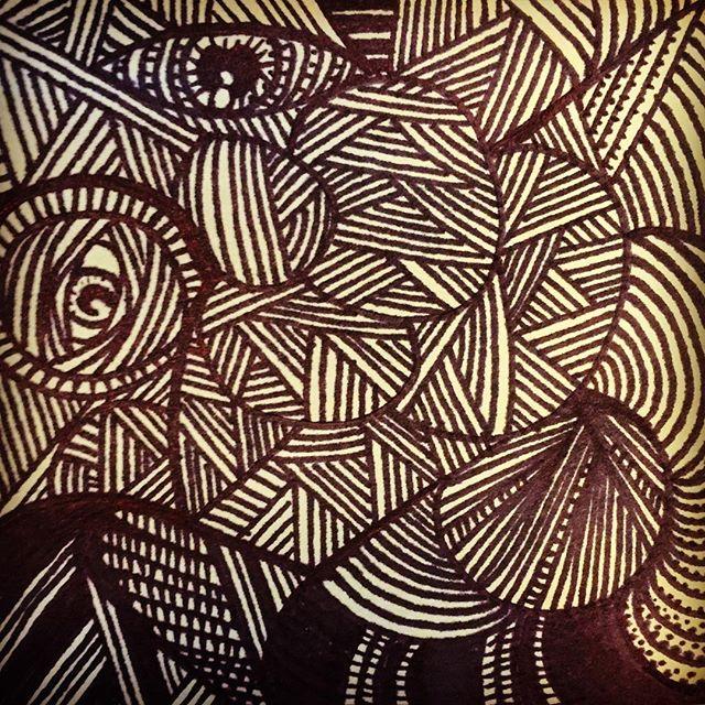 Meditative doodle.