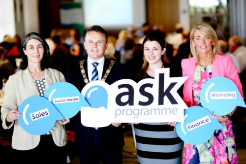 "(Photo from ""Antrim businesses can 'Ask' for mentoring"")"