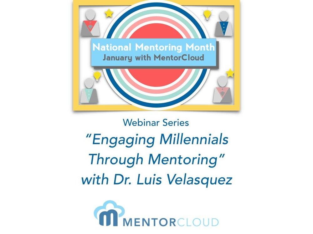 Engaging Millennials Through Mentoring