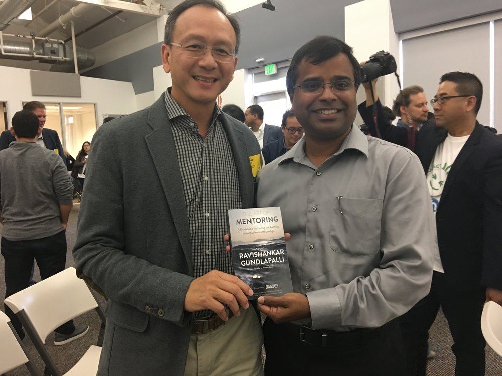 With Sammy Lee, Chairman of LKK Health Products Group Ltd & Author of 'The Autopilot Leadership Model'. Sammy Lee wrote the Foreword for my book, am truly honored.