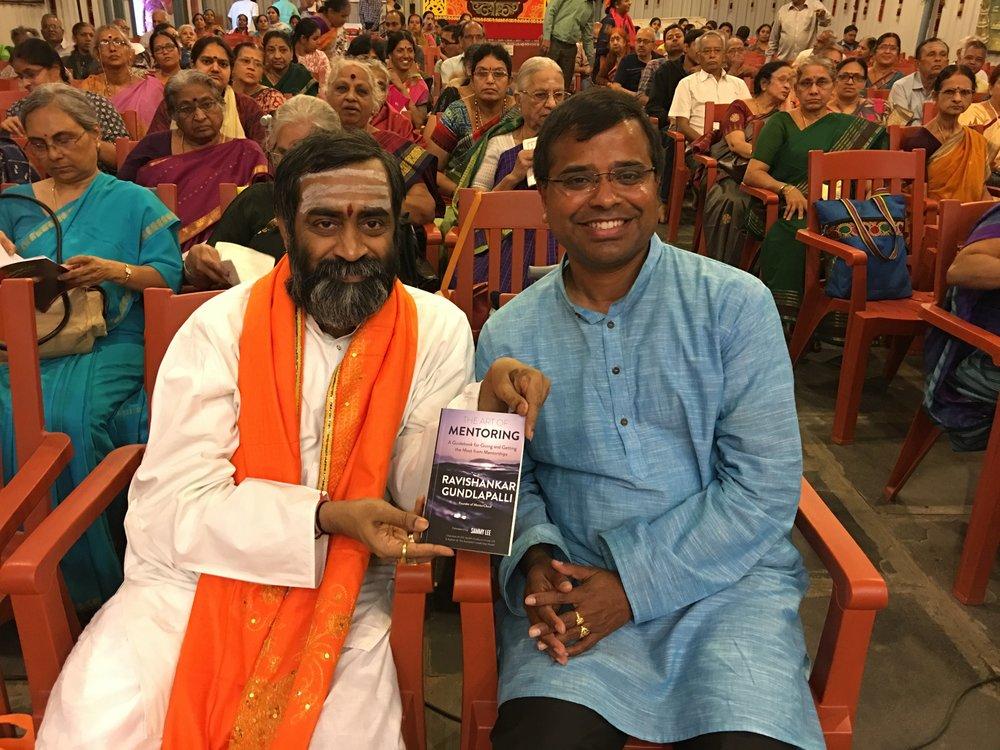 My Guru Brahmasri Dr. Saamavedam Shanmukha Sarma, a world-renowned scholar on Indian Epics, Upanishads and Spiritual Texts.