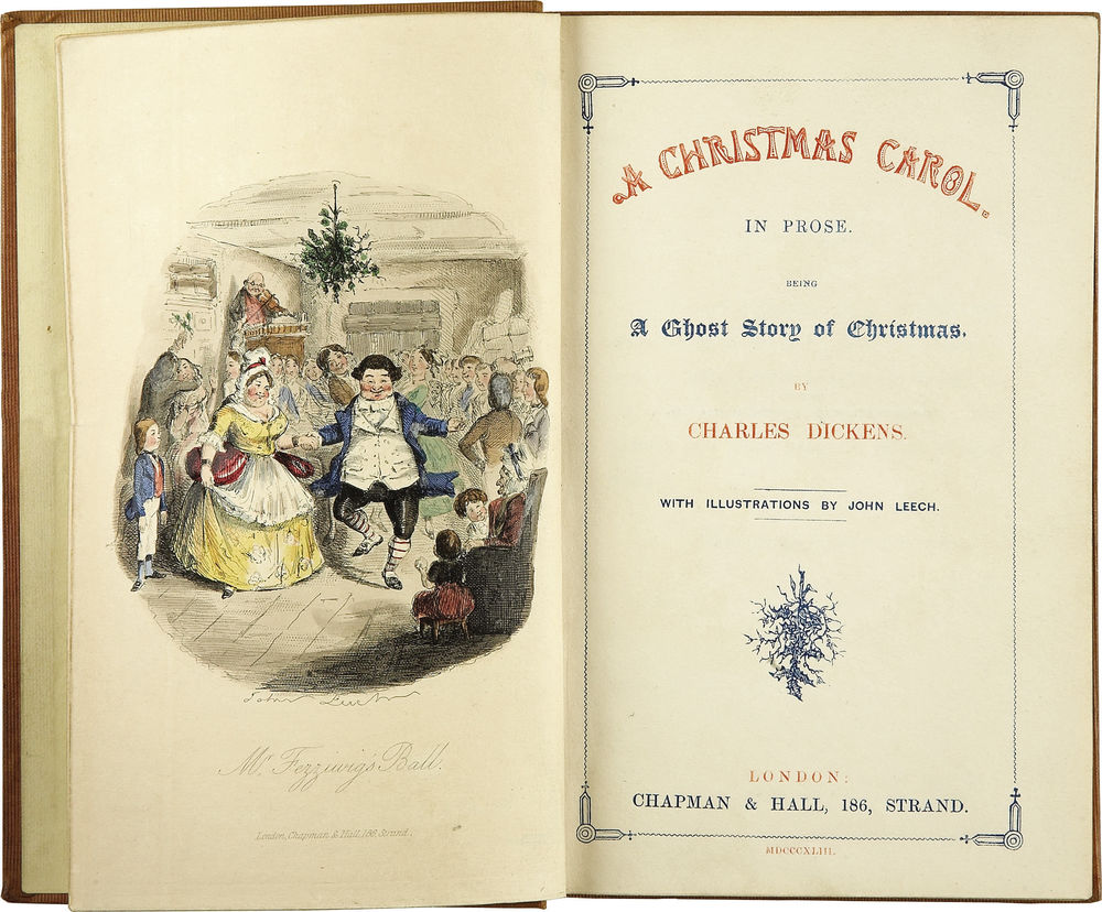 Title plate of A Christmas Carol, image taken off of google