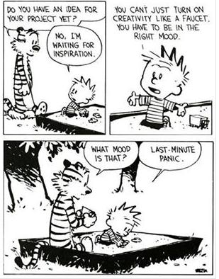 starwipemyass: Calvin & Hobbes nails creativity