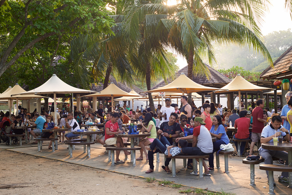 Hawker center at East Coast Park