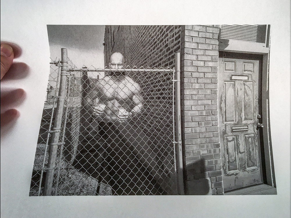 Piezography K7 print (backlit by natural light) on Wyndstone Vellum by Andrew Doak