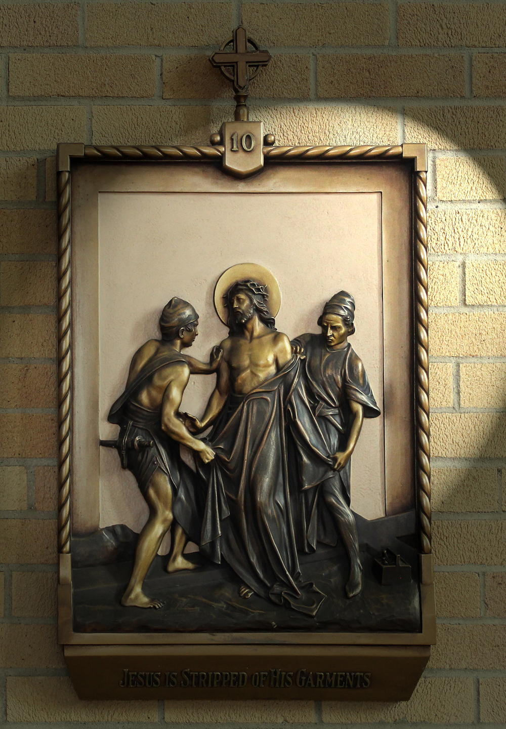 X Station: Jesus is Stripped of His Garments CLICK on photo to enlarge