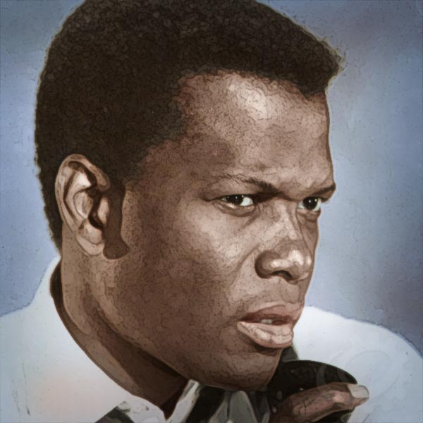 Sidney Poitier in A Slender Thread