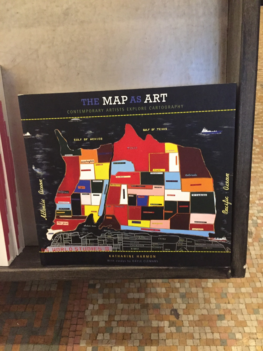 The Map as Art book.