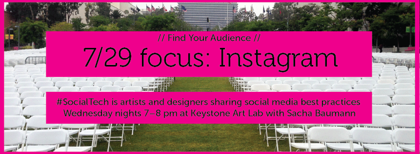 Join us for the next #SocialTech session, we'll be focusing on Instagram.