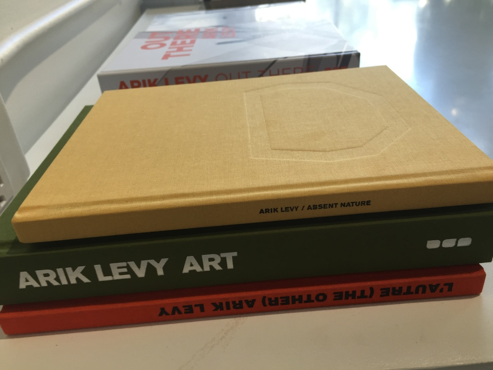 Arik Levy Art, part of a collection of books in Please Do Not Enter, downtown Los Angeles.