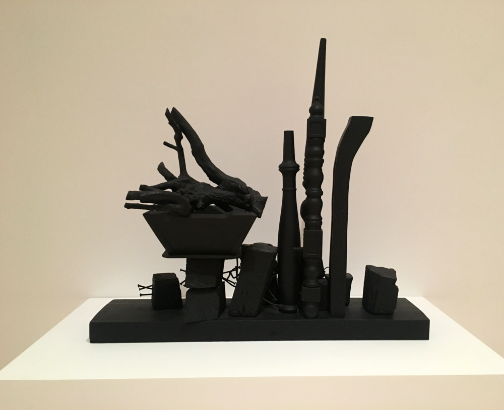 Nevelson, the queen.