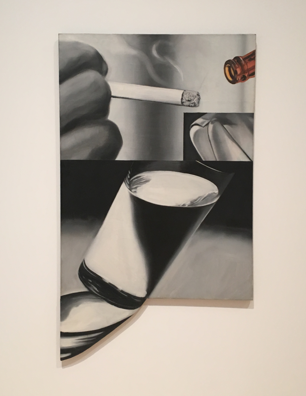 Rosenquist, I love his work. Reminds me of eons ago working at Postrio—there was a huge painting by him in the main dining room.