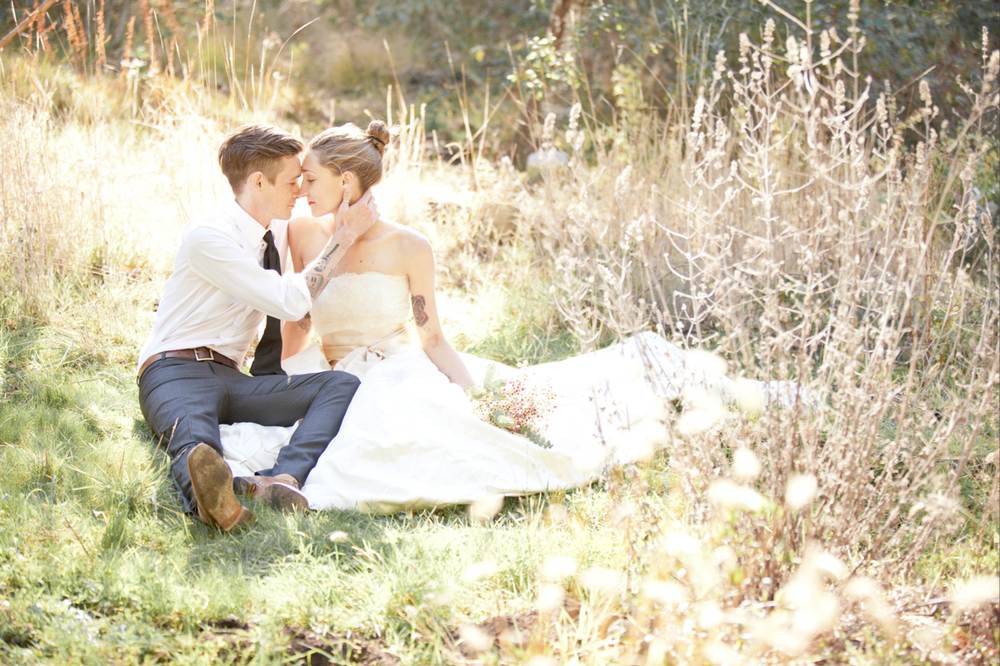 Romantic outdoor wedding photos by San Luis Obispo Wedding photographer Skyla Walton