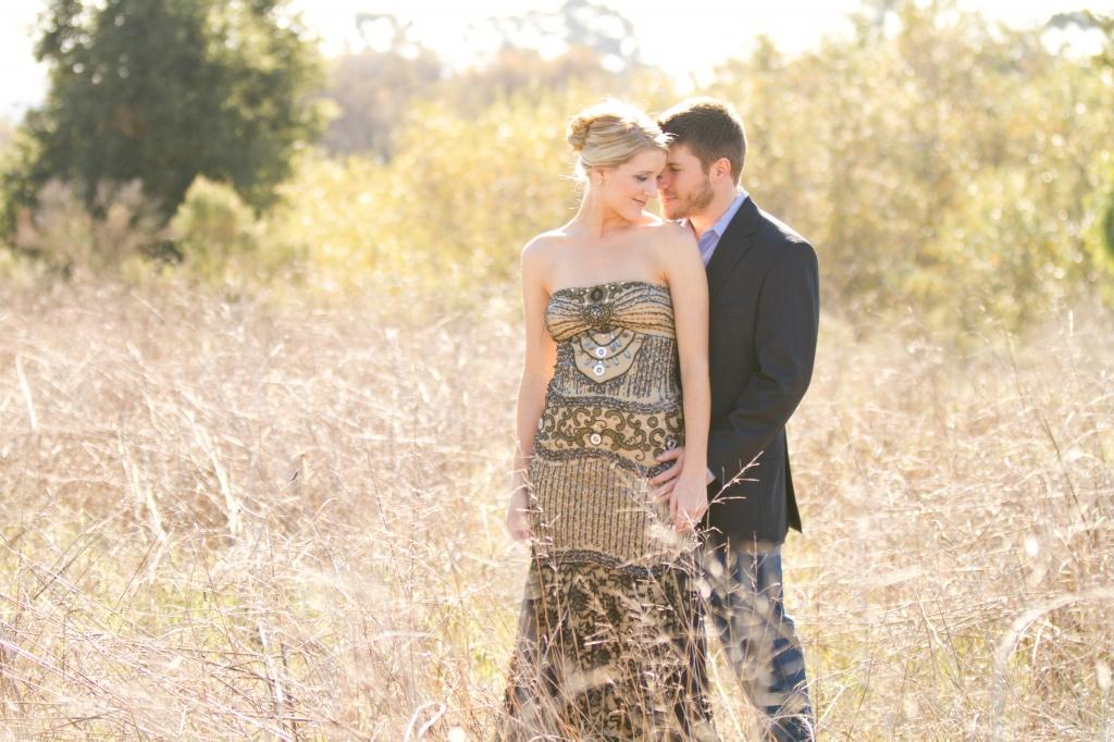 nature engagement session - santa barbara wedding photography