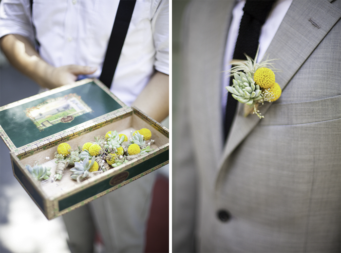 funky artistic handcrafted wedding